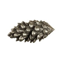 Anne at Home - Wild Animal - Pine Cone Knob (Large) in Pewter Matte