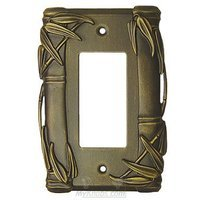 Anne at Home - Bamboo - Bamboo Switchplate Rocker/GFI Switchplate in Pewter Matte