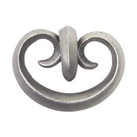 Anne at Home - Toscana - Toscana Drop Knob in Pewter Matte