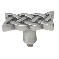 Anne at Home - Celtic Paths - Iona Knob in Pewter Matte