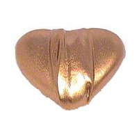 "LW Designs - Melody - Hannah Heart Knob - 1 1/2"" in Pewter Matte"