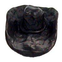 LW Designs - Western - Ten Gallon Cowboy Hat Knob in Pewter Matte