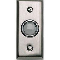 Atlas Homewares - Doorbell - Button Door Bell in Brushed Nickel
