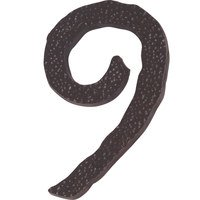 Atlas Homewares - House Numbers Hammered - # 9 House Number in Oil Rubbed Bronze