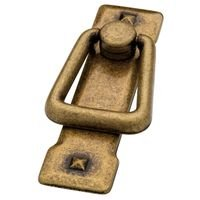 "Liberty Hardware - Avante - Mission - Bail Pull Vertical 2 1/4"" (57mm) Centers Zinc Antique Brass"