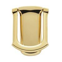 Baldwin Hardware - Lifetime PVD Polished Brass - Tahoe Knocker in Lifetime PVD Polished Brass
