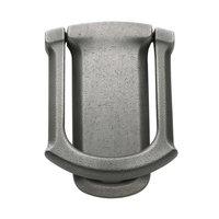 Baldwin Hardware - Distressed Antique Nickel - Tahoe Knocker in Distressed Antique Nickel