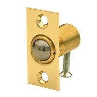 Baldwin Hardware - Estate Door Accessories - Adjustable Ball Catch (Fitted in Door) in Satin Nickel