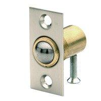 Baldwin Hardware - Satin Nickel - Adjustable Ball Catch (Fitted in Door) in Satin Nickel