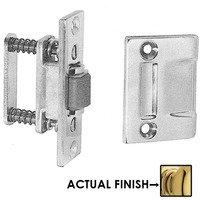 Baldwin Hardware - Estate Door Accessories - Roller Latch with Full Lip Strike in Satin Nickel