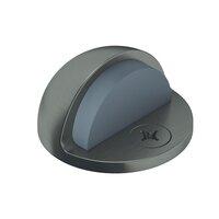 """Baldwin Hardware - Estate Door Accessories - 2"""" Half Dome Floor Door Bumper in Satin Nickel"""