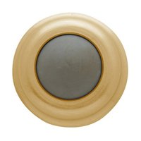 "Baldwin Hardware - Estate Door Accessories - 1"" Wall Type Flush Bumper in Satin Nickel"