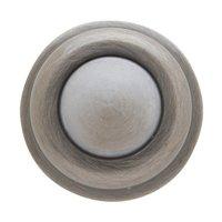 """Baldwin Hardware - Estate Door Accessories - 1"""" Wall Type Flush Bumper in Satin Nickel"""