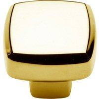 "Baldwin Hardware - Severin A - 1 1/4"" Diameter Severin A Knob in Polished Brass"