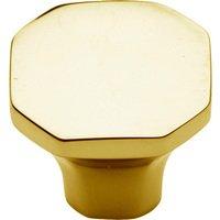 "Baldwin Hardware - Severin B - 1 1/16"" Diameter Severin B Knob in Polished Brass"