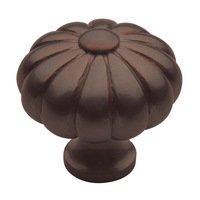 "Baldwin Hardware - Venetian Bronze - 1 3/16"" Diameter Melon Knob in Venetian Bronze"