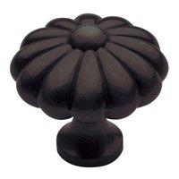 "Baldwin Hardware - Venetian Bronze - 1 3/8"" Diameter Melon Knob in Venetian Bronze"
