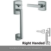 Baldwin Hardware - Passage Handlesets - Right Handed Passage Handleset Kit in Polished Chrome
