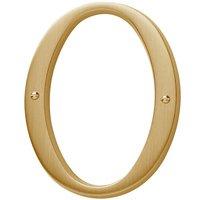 Baldwin Hardware - Estate Door Accessories - #0 House Number in Satin Nickel