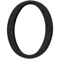 Baldwin Hardware - Satin Black - #0 House Number in Satin Black