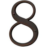 Baldwin Hardware - Venetian Bronze - #8 House Number in Venetian Bronze