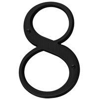 Baldwin Hardware - Satin Black - #8 House Number in Satin Black