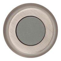 """Baldwin Hardware - Reserve Door Accessories - 1"""" Convex Wall Bumper in Matte Antique Nickel"""