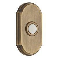 Baldwin Hardware - Reserve Door Accessories - Illuminated Arch Door Bell in Matte Brass & Black