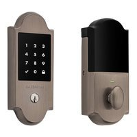Baldwin Hardware - Keyless Entry Electronic Deadbolts - Boulder Touchscreen Deadbolt in Lifetime (PVD) Polished Brass