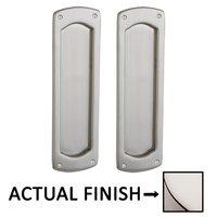 Baldwin Hardware - Pocket Door Hardware - Palo Alto Full Dummy Pocket Door Set in Lifetime Brass