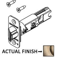 Baldwin Hardware - Reserve Door Accessories - Keyed Radius UL Rated Deadlatch for Entry Lever/Knob in Polished Brass