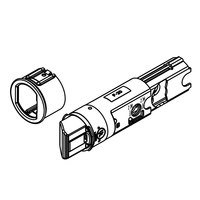 Baldwin Hardware - Reserve Door Accessories - Drive-In UL Rated Plainlatch for Handleset (Single Cylinder/Double Cylinder) and Knob/Lever (Passage/Privacy) in Brass