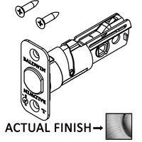 Baldwin Hardware - Reserve Door Accessories - Deadbolt Core Latch with Backplate for Handleset (Single Cylinder/Double Cylinder) and deadbolt (Single Cylinder / Double Cylinder) in Polished Brass