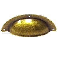 "Bosetti Marella - Antique Brass Dark - Bin Cup Pull 3 3/4"" Large in Antique Brass Dark"