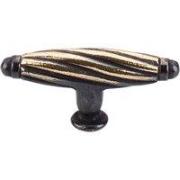 Top Knobs - Britannia - Versailles Knob Dark Antique Brass Small