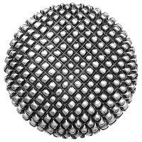 "Big Sky Hardware - Textured - 1 3/8"" Diameter Caviar Round Knob in Pewter"