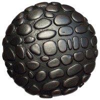 "Big Sky Hardware - Animals - 1 1/4"" Diameter Crocodile Round Knob in Oil Rubbed Bronze"