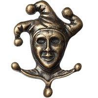 Big Sky Hardware - Masks - Joker Knob in Antique Brass