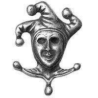 Big Sky Hardware - Masks - Joker Knob in Pewter