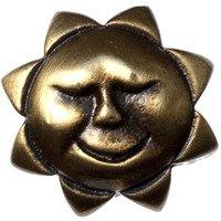 Big Sky Hardware - Kids & Teens - Kids Sun Knob in Antique Brass