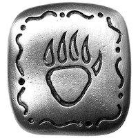 Big Sky Hardware - Southwestern - Southwest Bear Claw Knob in Pewter