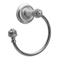 Carpe Diem Hardware - Cricket Cage - Towel Ring Left in Cobblestone