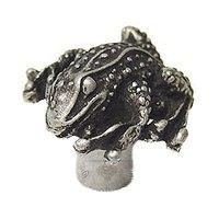 Carpe Diem Hardware - Oak Hollow Waterscape - Frog Large Knob in Cobblestone