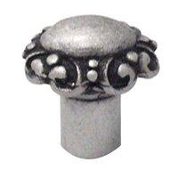 Carpe Diem Hardware - Oak Hollow Just a Great Knob - Scroll Knob in Cobblestone