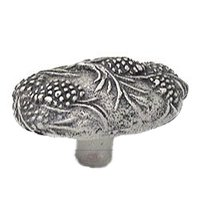 Carpe Diem Hardware - Oak Hollow Pinecone - Pinecone Large Oval Knob in Cobblestone