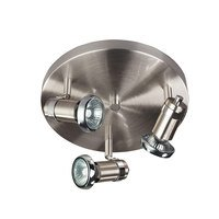 "Canarm - Shay - 10"" Flush Mount Light / Wall Light in Chrome with Chrome"