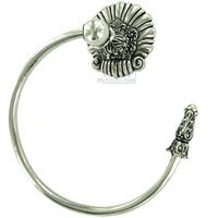 Carpe Diem Hardware - Aphrodite - Towel Ring Right in Cobblestone