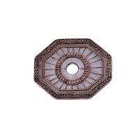 Carpe Diem Hardware - Oak Hollow Classic Western - Laurel Leaf Escutcheon in Antique Brass