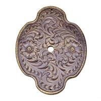 Carpe Diem Hardware - Oak Hollow Classic Western - Oval Tularosa Escutcheon in Antique Brass