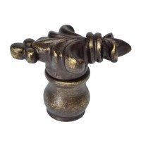 Carpe Diem Hardware - Charlemagne - Large Knob in Cobblestone